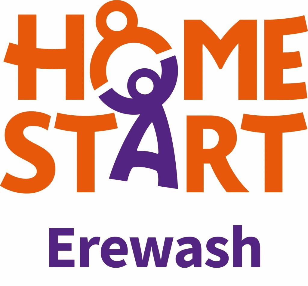 Home-Start Erewash logo linking to their website