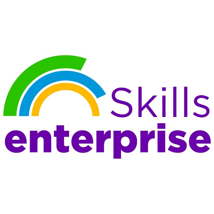Skills Enterprise logo linking to their website