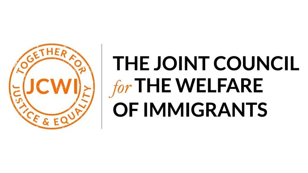 The Joint Council for the Welfare of Immigrants logo linking to their website